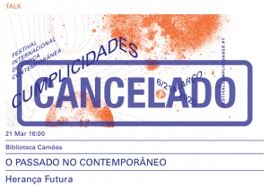 Prata da Casa, Mário Afonso - Festival Cumplicidades 2020