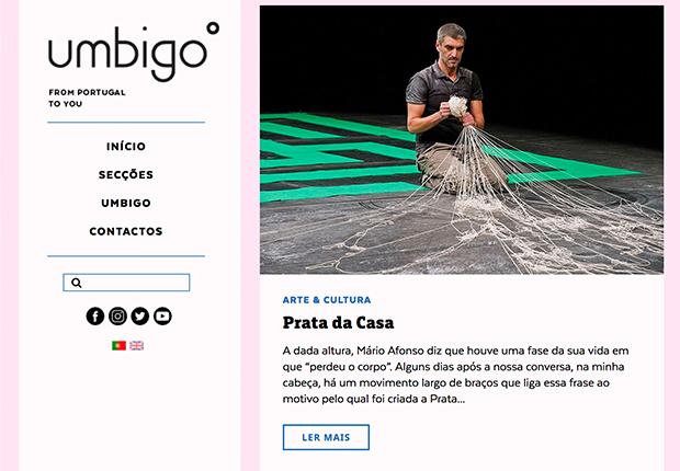 Mário Afonso na Umbigo Magazine